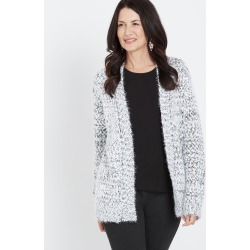Millers Popcorn Cardigan - Salt N Pepper found on Bargain Bro Philippines from crossroads for $14.34