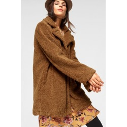 Urban Plush Jacket - Camel - 14 found on Bargain Bro from Noni B Limited for USD $55.77