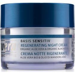 Lavera Basis Sensitiv Regenerating Night Cream - Organic Aloe Vera And Organic Almond Oil (for All Skin Types) - Multi - 50ml
