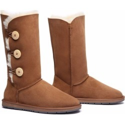 Ugg Boots Classic Tall In 3 Button - Chestnut - AU W7/ M5 found on Bargain Bro from Katies for USD $114.81
