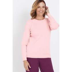 Millers Fine Cable Jumper - Soft Pink found on Bargain Bro Philippines from crossroads for $14.34