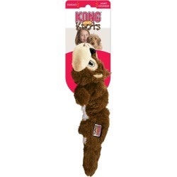 Kong Scrunch Knot Squirrel Interactive Toy Small - Multi found on Bargain Bro from Rivers for USD $18.44