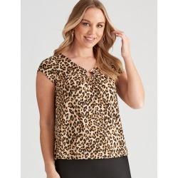 Crossroads Gold Ring Neck Top - Tbc - XS found on Bargain Bro Philippines from crossroads for $11.79