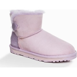 Ozwear Ugg Womens Classic Sparkling Mini Button Boots - Lavender - EU36 / AU6L found on Bargain Bro from Rockmans for USD $58.41