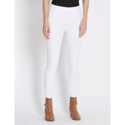 Rockmans Full Length Lattice Trim Pant - Optic White - 10 found on Bargain Bro Philippines from Rockmans for $14.48