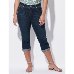 Crossroads Cropped Slim Roll Up Jean - Dark Wash - 8 found on Bargain Bro Philippines from Rockmans for $38.33