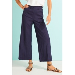 Capture Linen Blend Pants - Navy - 8 found on Bargain Bro from Katies for USD $13.02