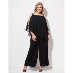 Crossroads Embellished Jumpsuit - Black - 12 found on Bargain Bro Philippines from Rockmans for $21.30