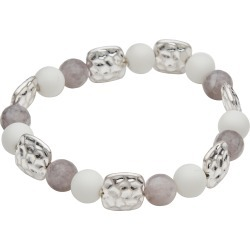 Amber Rose Glass Beads Stretch Bracelet - Multi - M/L found on Bargain Bro India from Katies for $7.62