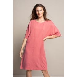 Capture Panel Detail Dress - Coral - 20 found on Bargain Bro from crossroads for USD $36.34