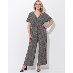 Crossroads Flextend Sleeve Jumpsuit - Print Monotone - 12 found on Bargain Bro India from Rockmans for $30.96