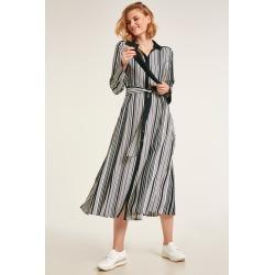 Heine Striped Shirt Dress - Black/white Stripe - 38 found on Bargain Bro from Noni B Limited for USD $37.65