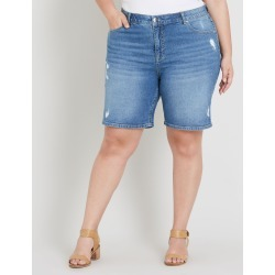 Beme Classic Denim Short - Mid Wash - 14 found on Bargain Bro Philippines from crossroads for $19.65