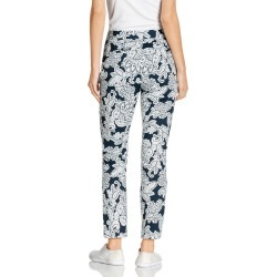Capture Printed Cotton Sateen 7/8 Pants - Navy Print - 12 found on Bargain Bro from Katies for USD $14.80