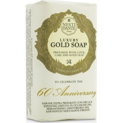 Nesti Dante 60 Anniversary Luxury Gold Soap With Gold Leaf (limited Edition) - Multi - 250g found on Bargain Bro from BE ME for USD $9.17