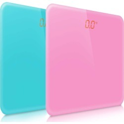 Soga 180kg Digital Fitness Lcd Electronic Scales 2pack - Pink/blue - ONE found on Bargain Bro from Noni B Limited for USD $32.17