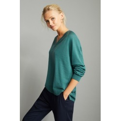 Emerge Merino V Neck Sweater - Sage - XL found on Bargain Bro India from Rockmans for $40.41