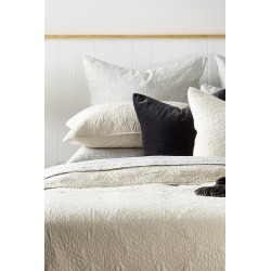 Camille Quilted Pillowcover - Tea - One Size found on Bargain Bro from Noni B Limited for USD $6.46