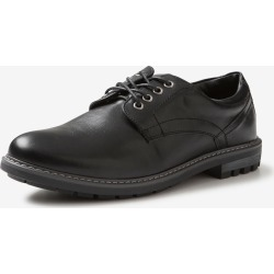 Rivers Pu Lace Up Dress Shoe - Black - 7 found on Bargain Bro from Rockmans for USD $27.61
