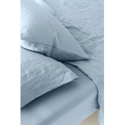 Hampton Linen Sheet Set - Cloud - Queen found on Bargain Bro India from Rockmans for $166.55