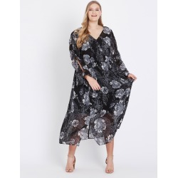 Beme 3/4 Slv Maxi Dress - Large Floral - 14 found on Bargain Bro Philippines from Rockmans for $35.48