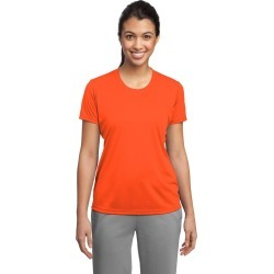 Sport-tek Ladies Posicharge Competitor Tee - Neon Orange - M found on Bargain Bro Philippines from Noni B Limited for $16.96