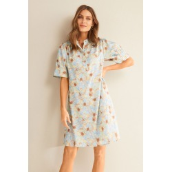 Grace Hill Linen Blend Tunic Dress - Abstract Print - 8 found on Bargain Bro Philippines from W Lane for $50.47