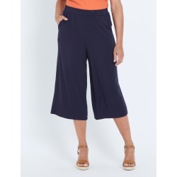 Millers Jersey Culotte Pant - Navy - 12 found on Bargain Bro from Rivers for USD $5.87