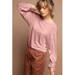 Emerge Tie Sleeve Sweater - Blush - XL found on Bargain Bro India from Rivers for $12.95