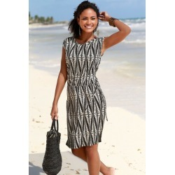 Urban Printed Midi Beach Dress - 12 found on MODAPINS from crossroads for USD $27.09