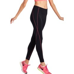 Lasculpte Women's High Waist Contrast Trim F/l Tights - Black/coral - 10 found on Bargain Bro from Noni B Limited for USD $32.87