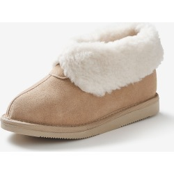 Rivers Suede Princess Slipper - Stone - 43 found on Bargain Bro Philippines from crossroads for $23.57