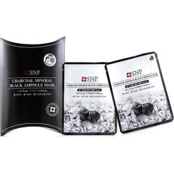 Snp Charcoal Mineral Black Ampoule Mask - Multi - 10x25ml