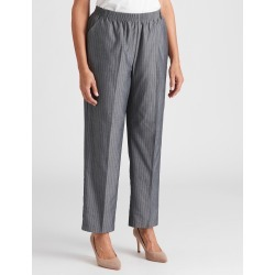 Millers Short Length Check Essential Pant - Ink Pinstripe found on Bargain Bro Philippines from crossroads for $17.93