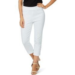 Rockmans 7/8 Stud Detail Pant - White found on Bargain Bro India from W Lane for $11.66