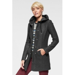 Urban Hooded Knit Jacket - Charcoal Marl - 12 found on Bargain Bro from Noni B Limited for USD $45.20