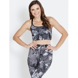 Rivers Body Logic Cross Strap Sports Bra - Dark Palm - M found on Bargain Bro from BE ME for USD $8.42