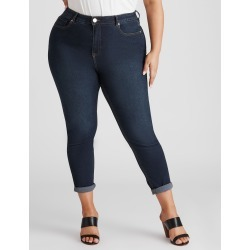 Beme Mid Rise Core Regular Length Jean - Indigo - 14 found on Bargain Bro from crossroads for USD $22.86