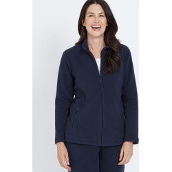 Millers Long Sleeve Microfleece Jacket - Navy found on Bargain Bro Philippines from crossroads for $10.76