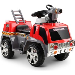 Rigo Kids Ride On Fire Truck Motorbike Motorcycle Car Red… Grey - One found on Bargain Bro India from Rockmans for $131.55