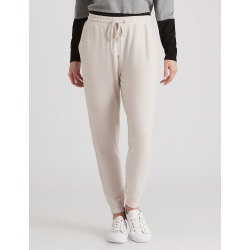 Rivers Fluffy Track Pant - Oatmeal Marle - 16 found on Bargain Bro from Rockmans for USD $12.26