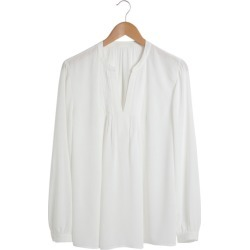 Grace Hill Pintuck Long Sleeve Blouse - Ivory - 12 found on Bargain Bro from Rivers for USD $26.45