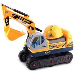 Keezi Kids Ride On Excavator - Yellow - Multi - One found on Bargain Bro India from Rockmans for $75.73