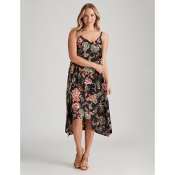 Crossroads Strappy Trapeze Dress - Folk - 8 found on Bargain Bro India from W Lane for $13.90