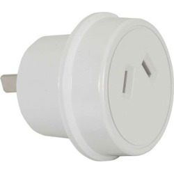 Techbrands Mains Travel Adaptor - Usa/jpn W/o Eth - Multi found on Bargain Bro India from crossroads for $18.41