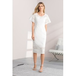 Grace Hill Broderie Dress - Ivory - 12 found on Bargain Bro Philippines from W Lane for $58.24