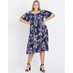 Beme Elbow Off Shoulder Ornate Print Dress - Ornate Paisley - 20 found on Bargain Bro Philippines from Rockmans for $35.48