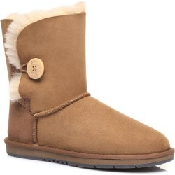 Ugg Boots Short Button - Chestnut - AU W10/ M8 found on Bargain Bro from Katies for USD $80.50