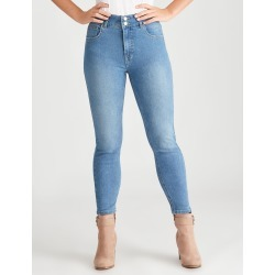 Rockmans 7/8 Double Button Tuscany Jean - Light Wash - 18 found on Bargain Bro India from Rockmans for $27.99