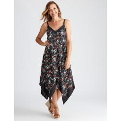 Millers Online Exclusive Sleeveless Chevron Dress - Black Print - 10 found on Bargain Bro from Katies for USD $11.83